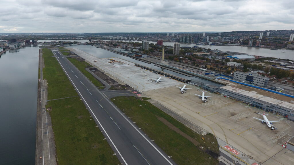 London City airfield infrastructure