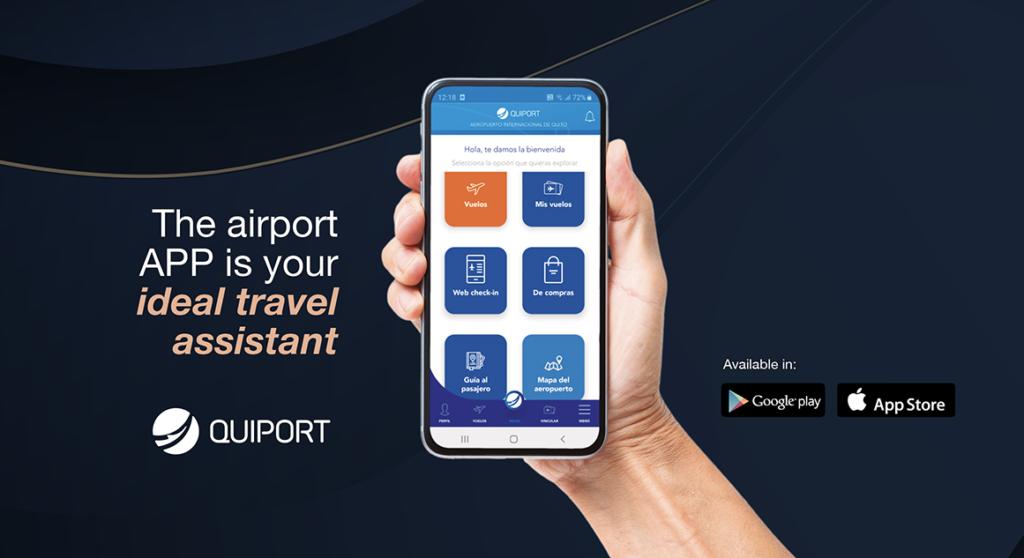 Quito Airport smartphone app