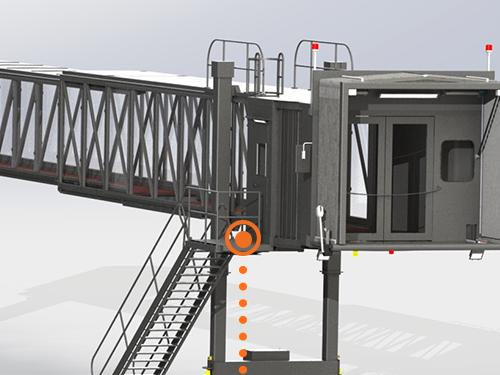 Design your own Passenger Boarding Bridges