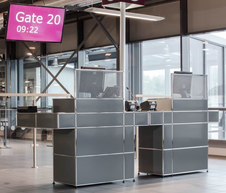 Gate counters