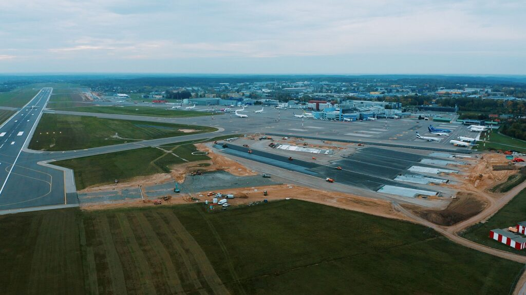Vilnius airport taxiway reconstruction