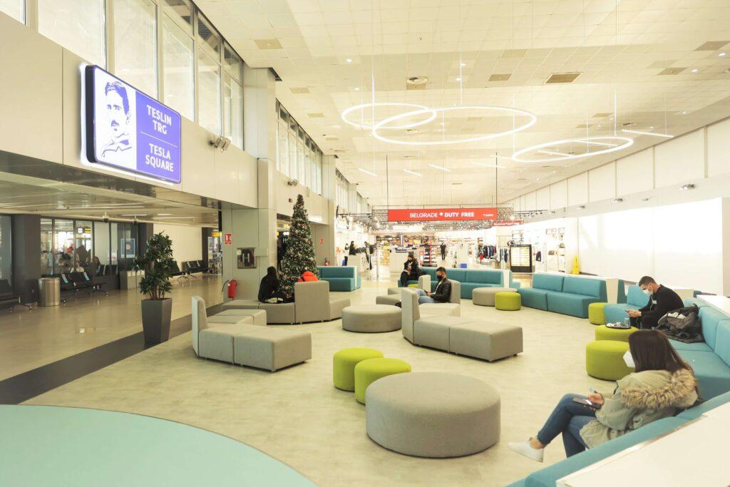 Modernized Central Area Belgrade Airport