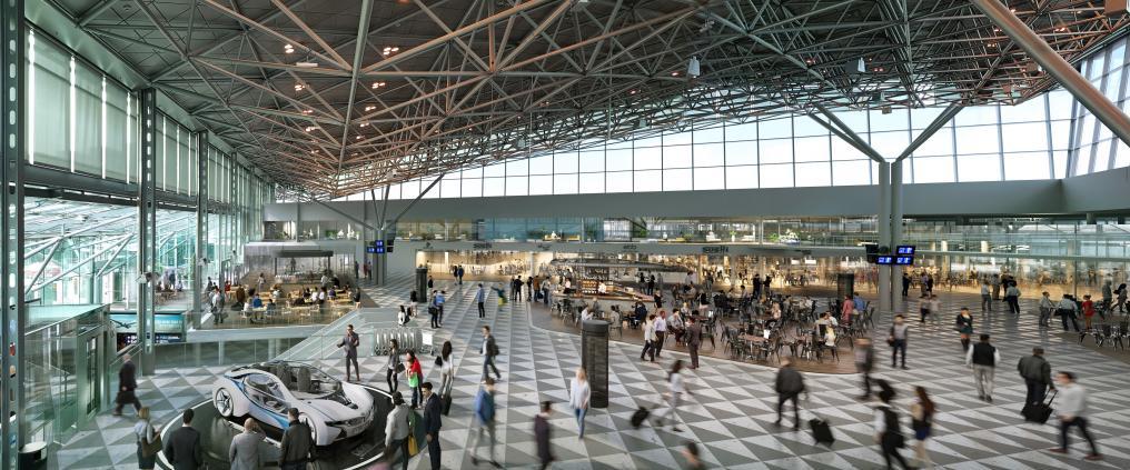 Helsinki Airport terminal renovation terminal 2 Finavia