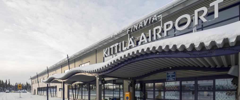 Kittilä airport renovation