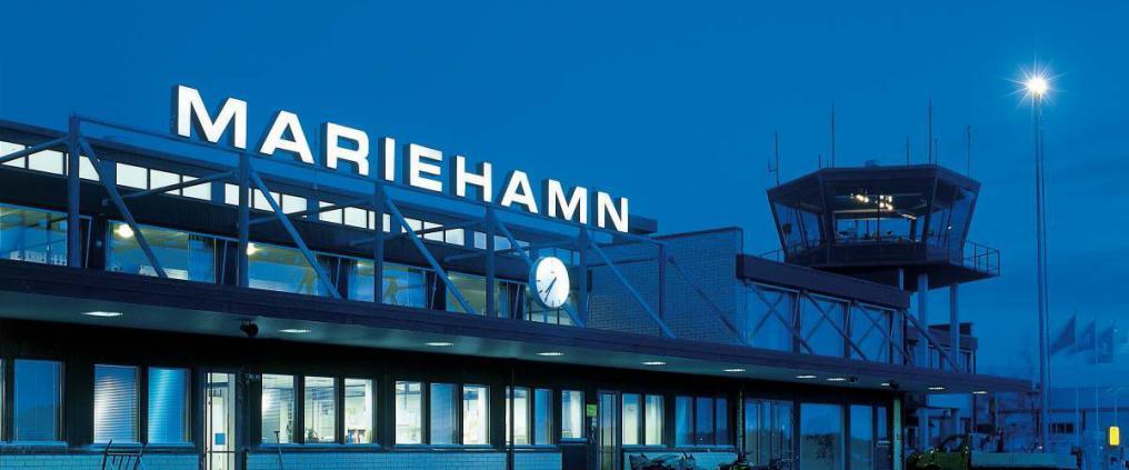 Finavia runway Mariehamn Airport repave