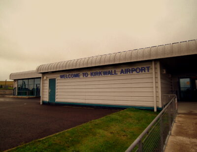 HIAL Leads Sustainable Aviation Project at Kirkwall Airport