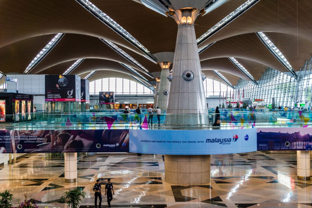 Facial Recognition KL International Airport authentication