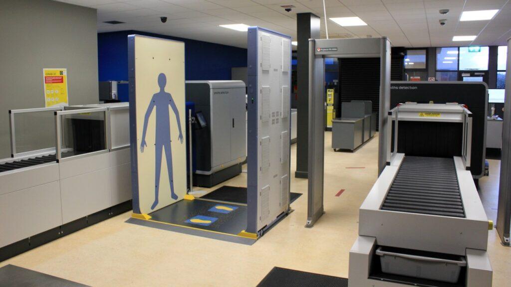 Rohde & Schwarz Kerry airport qps scanner