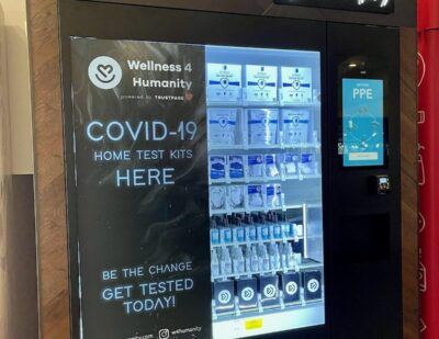 OAK First U.S. Airport to Sell COVID Test Kits in Vending Machines