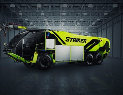 Oshkosh Introduces Upgraded Features on Striker ARFF Vehicle