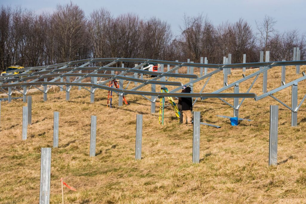 Pittsburgh International Airport Solar Power microgrid