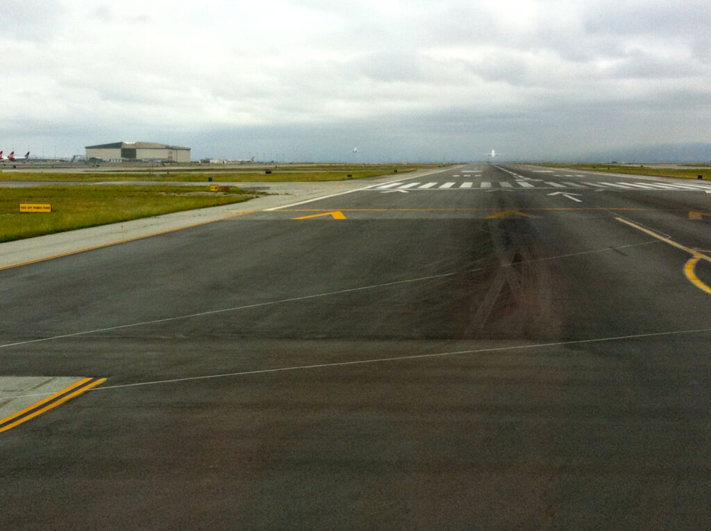 sfo runway improvement project