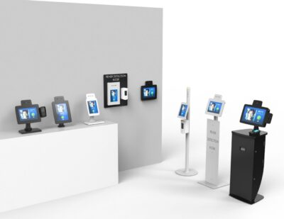 imageHOLDERS | Covid-19 Touchless and Temperature Screening Kiosks