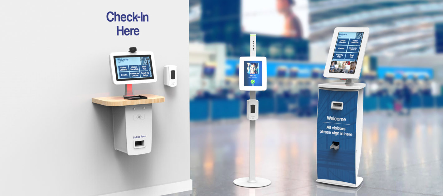 Kiosk solutions for airports