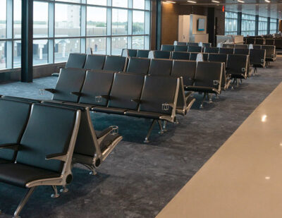 Bullet and Blast Resistant Flyaway Seating Installed at BRO