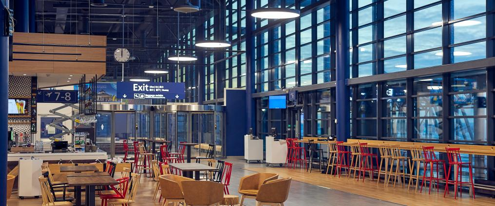 Rovaniemi Airport carbon heating