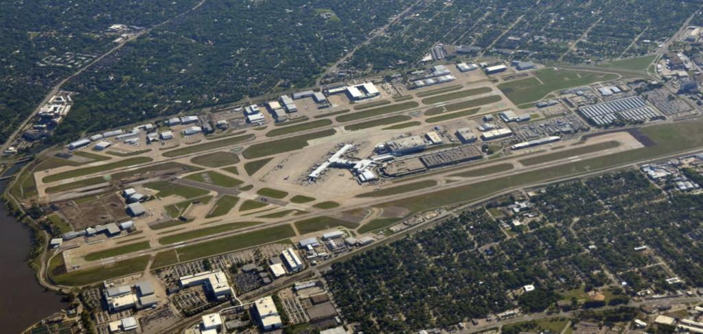 runway reconstruction dal flatiron love field