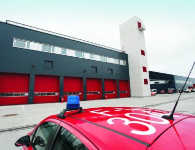 Frankfurt Airport's New Fire Station 1 Now Operational