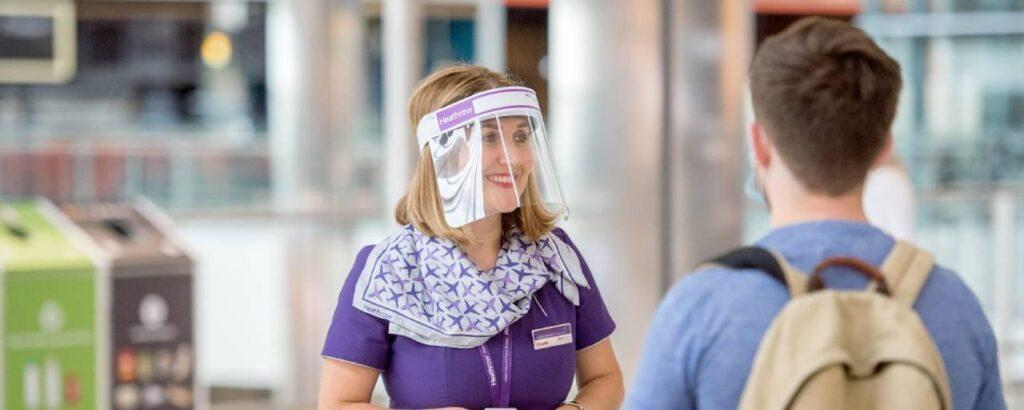 Heathrow colleague testing
