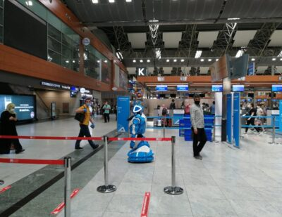 Social Robots Introduced at Istanbul's ISG Airport