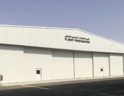 Esavian Doors for Calidus LLC at Al Ain International Airport