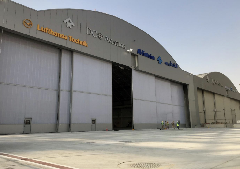 Jewers Doors Esavian Doors for DC Aviation Hangars Dubai