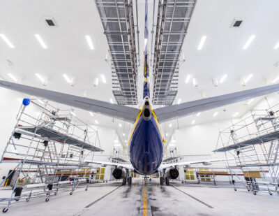 New World-Class Aircraft Paint Shop at Kaunas Airport