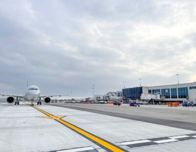 Taxilane Concrete Replacement Project Completed at LAX