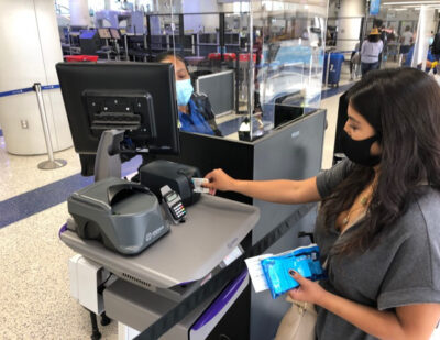 Automated, Touchless Security Screening at LAX