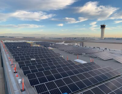 Aeroplex/Aerolease Group Launches Solar Energy Project at LGB