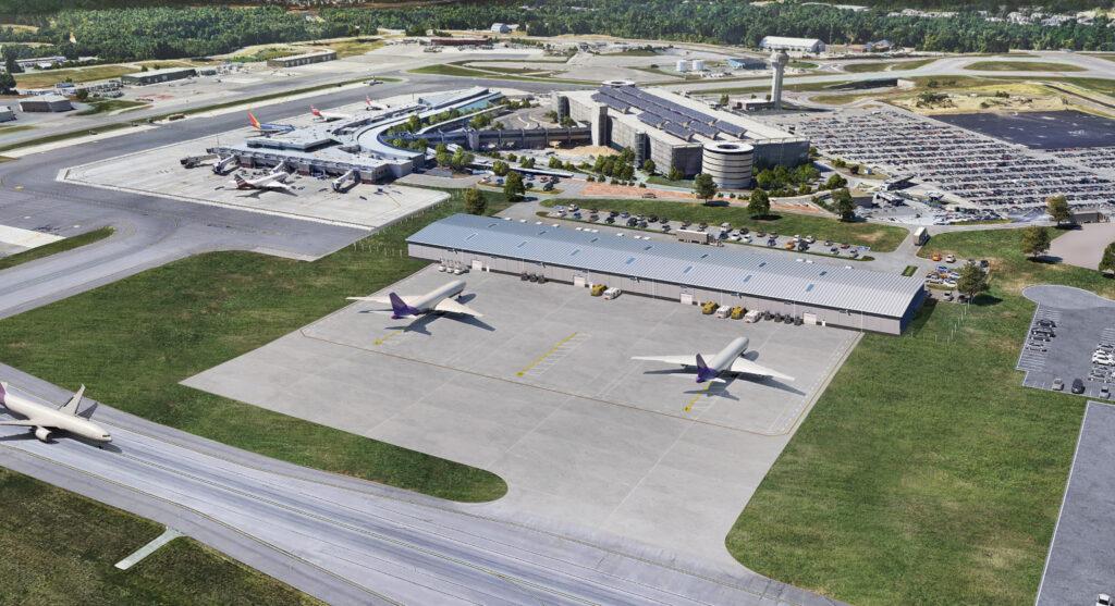MHT Aeroterm cargo facility