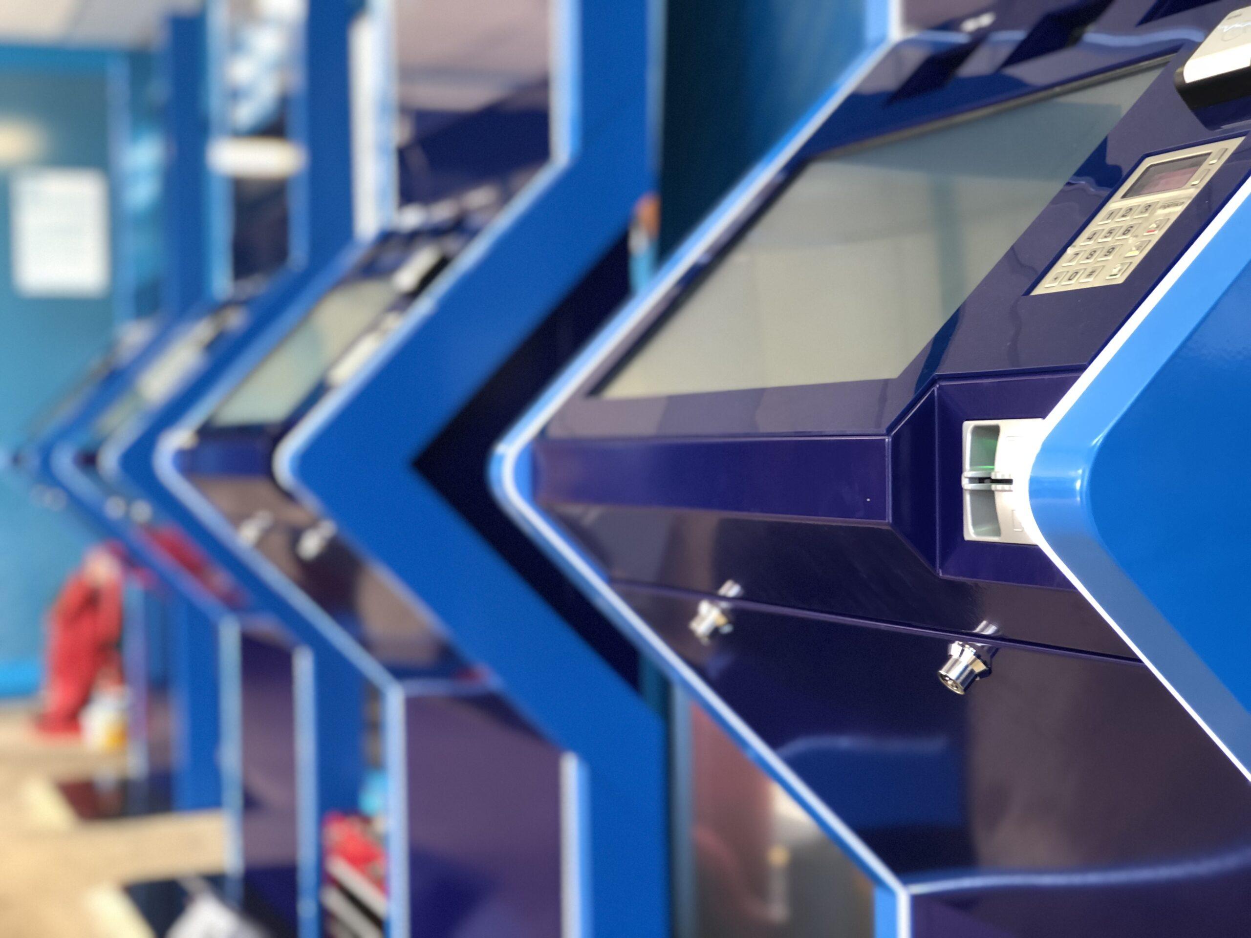 ParkIT kiosks at London Luton Airport
