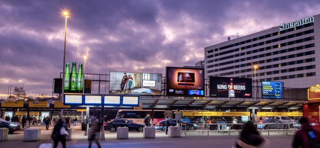 Schiphol advertising