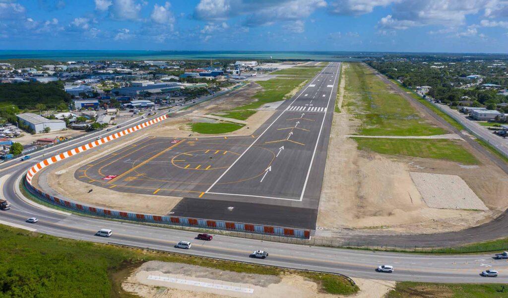 oria airfield upgrades Stantec