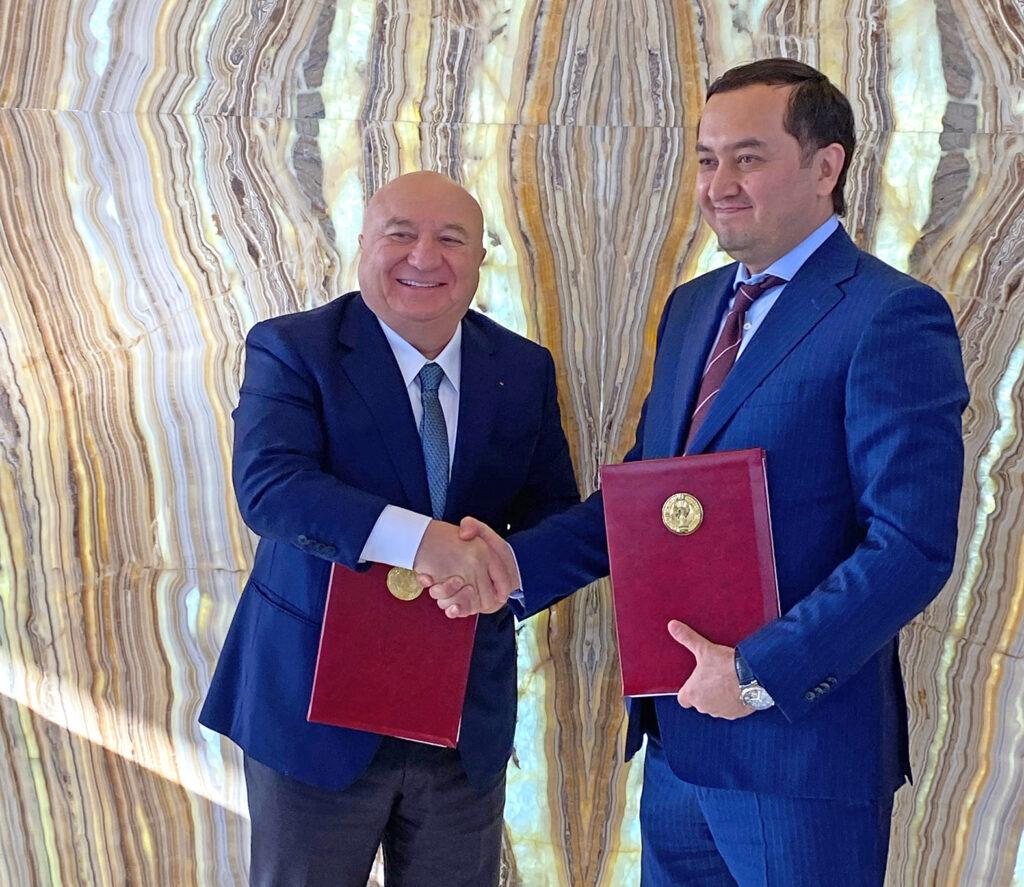 tav airports signedmou Uzbekistan