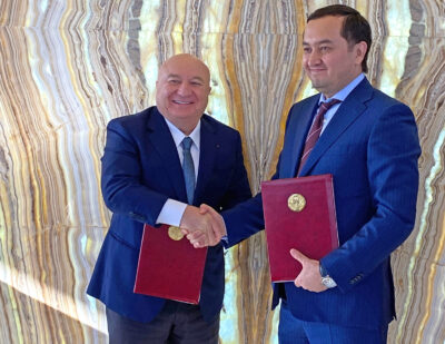TAV Airports Signs MoU to Develop Airports in Uzbekistan