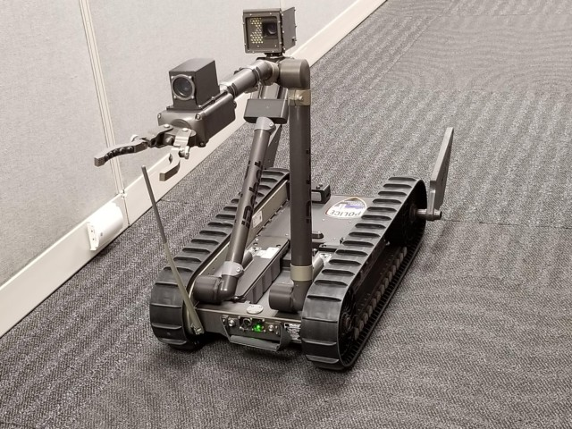 tucson airport eod robots