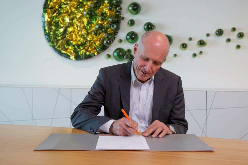 vanderlande climate pledge