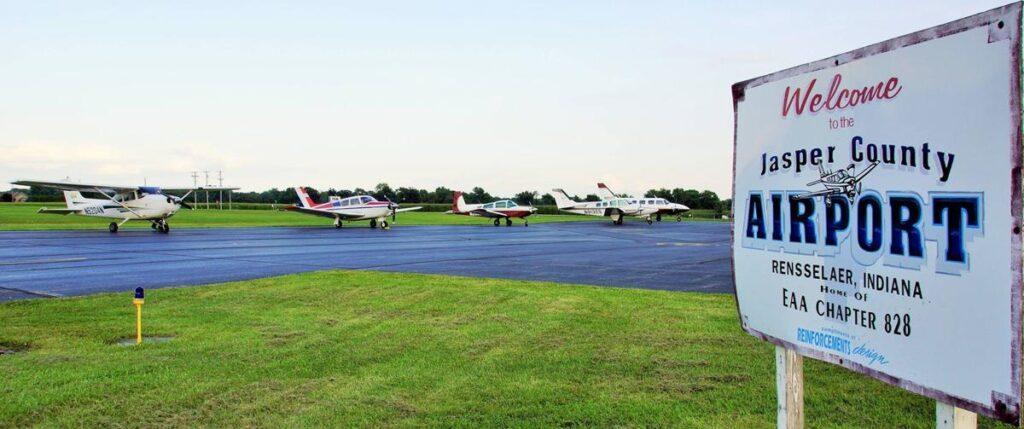 Woolpert jasper county airport