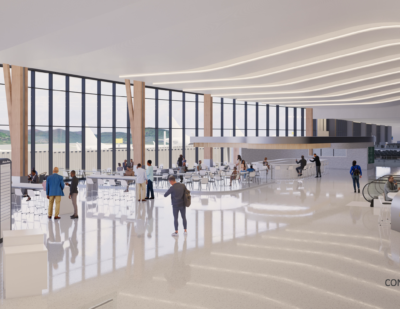 Asheville Regional Airport Shares Preview of New Terminal Design