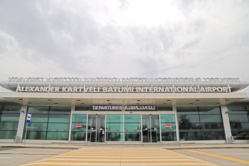 batumi airport new terminal
