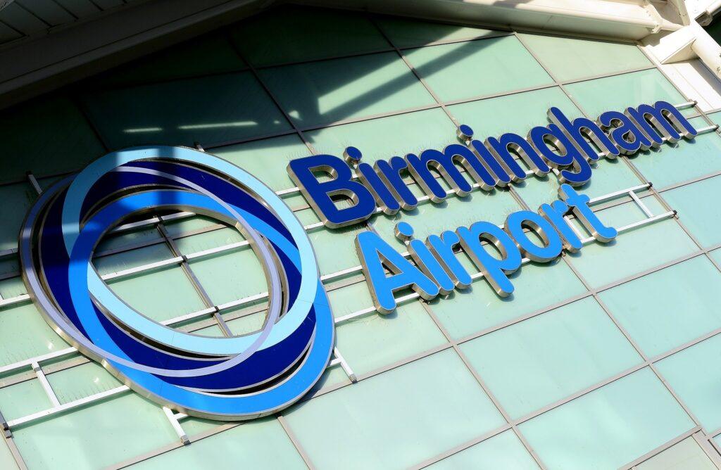 Birmingham airport iso 45001