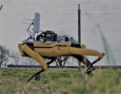 Ericsson-Powered 5G Unleashes Robot for Airport Inspection