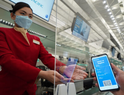Digital Health Pass Trial Successfully Completed at HKIA