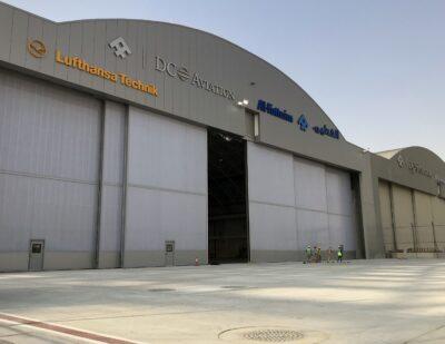 Jewers Doors DC Aviation at Dubai South, Al Maktoum International Airport
