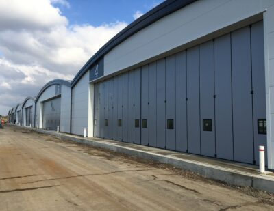 Ospreys Open New Airport Hangars at Former Daedalus Site in Hampshire