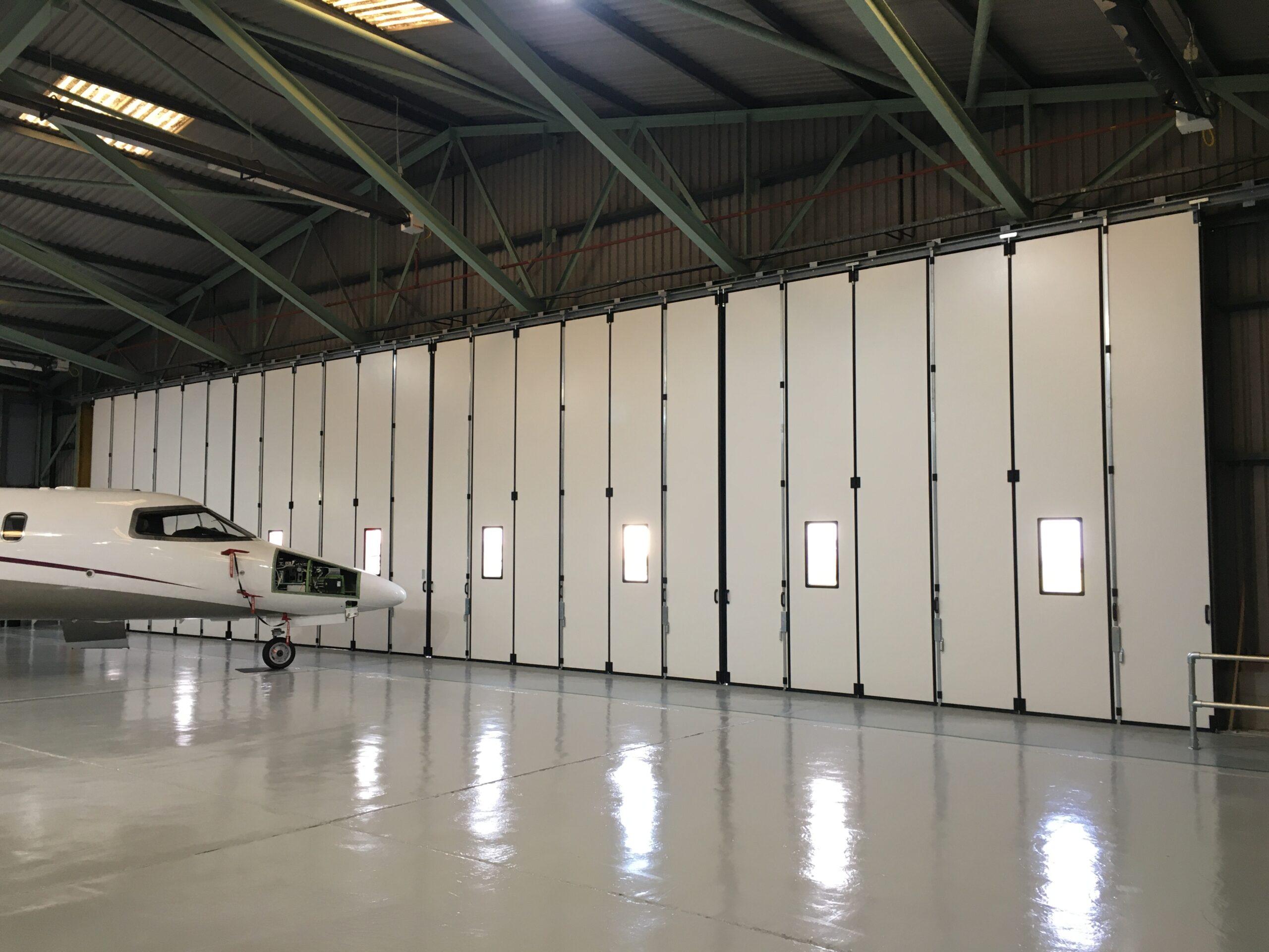 Zenith Aviation at Biggin Hill Airport – Osprey sliding/folding door – 2020