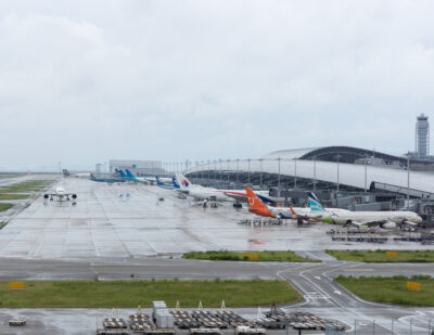 Kansai Airports Group Aims for Net Zero Emissions