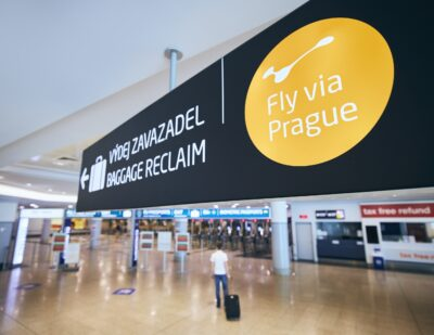 Prague Airport Launches 'Fly via Prague' for Transfer Passengers