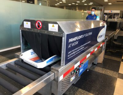 TSA Explores Use of Ultraviolet Light to Disinfect Checkpoint Bins